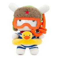 Игрушка мягкая Xiaomi Mi Rabbit Diver 25 cm White+orange