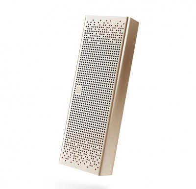 Портативная Bluetooth-колонка Xiaomi Mi Mini Square Box 2 Pocket Audio Gold