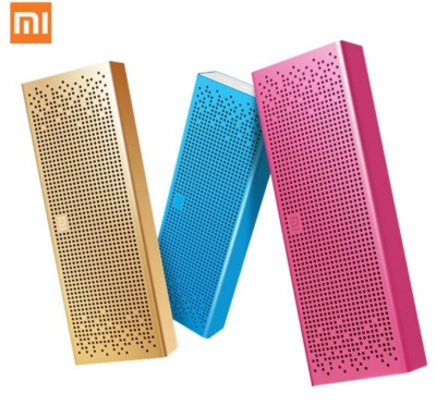 Портативная Bluetooth-колонка Xiaomi Mi Mini Square Box 2 Pocket Audio Pink